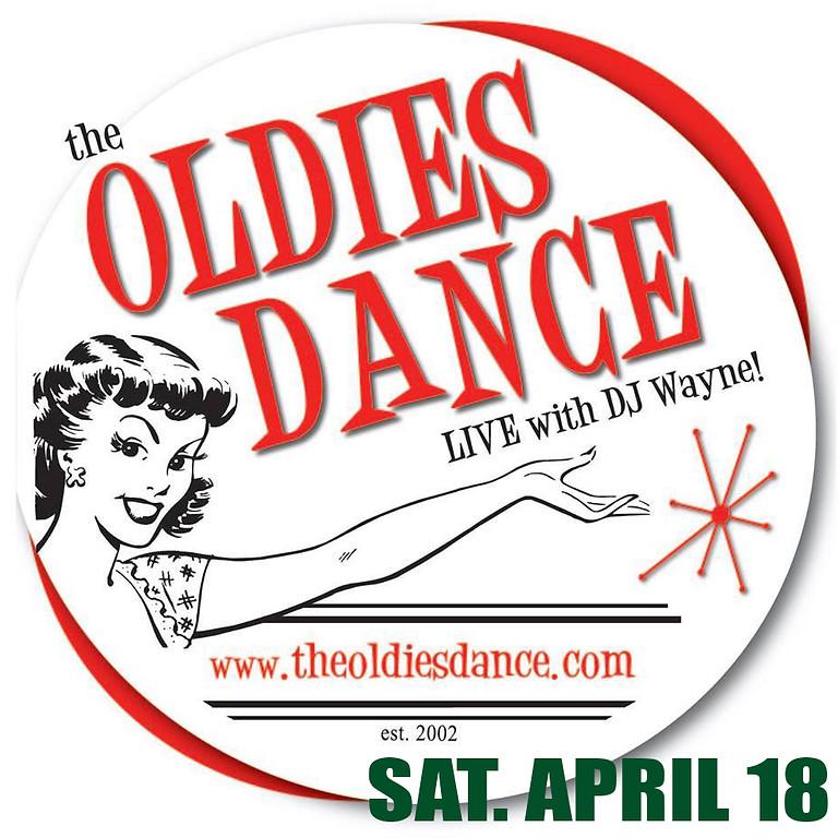 THE ORIGINAL SATURDAY NIGHT OLDIES DANCE