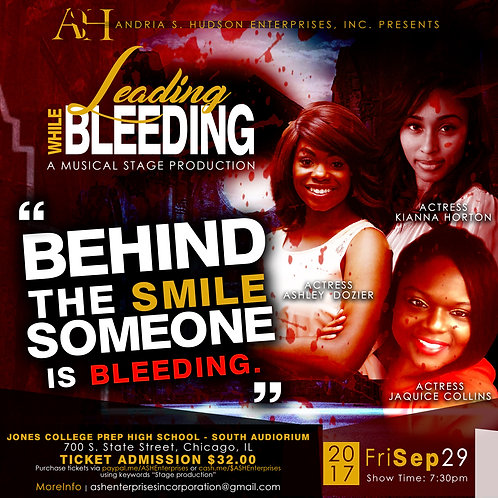 Leading While Bleeding Stage Play Digital Download