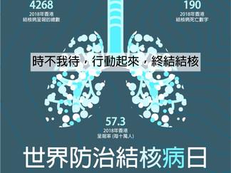 World Tuberculosis (TB) Day   世界防治結核病日