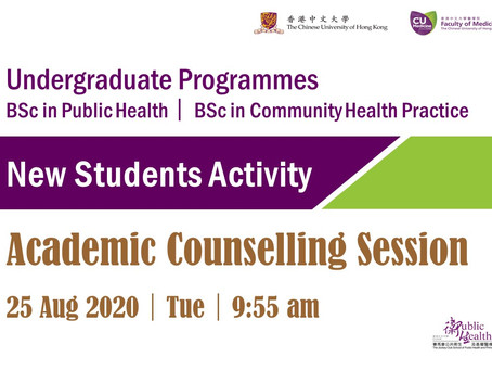 Academic Counselling for 2020 New Students