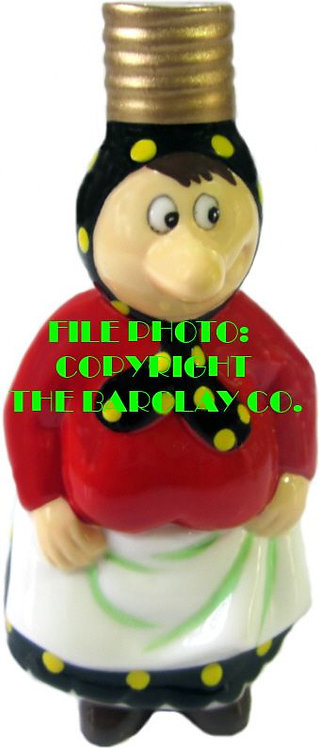 "#BC-026 - Snuffy Smith Comic Character ""Milk Glass"" Bulb Cover - Loweezy"