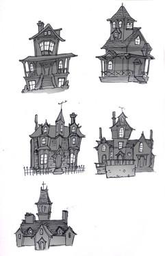 Gothic Mansion Thumbnails