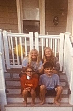 Denise Jessel - Grandchildren on Steps.j