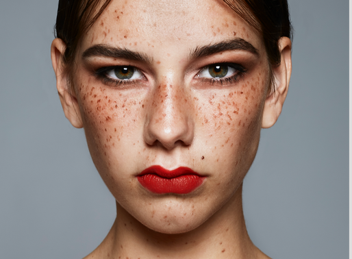CREATE FAUX FRECKLES
