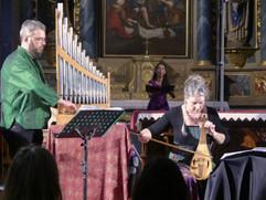 Christophe Deslignes, Eva Fogelgesang et Esther Labourdette concert de Peillac