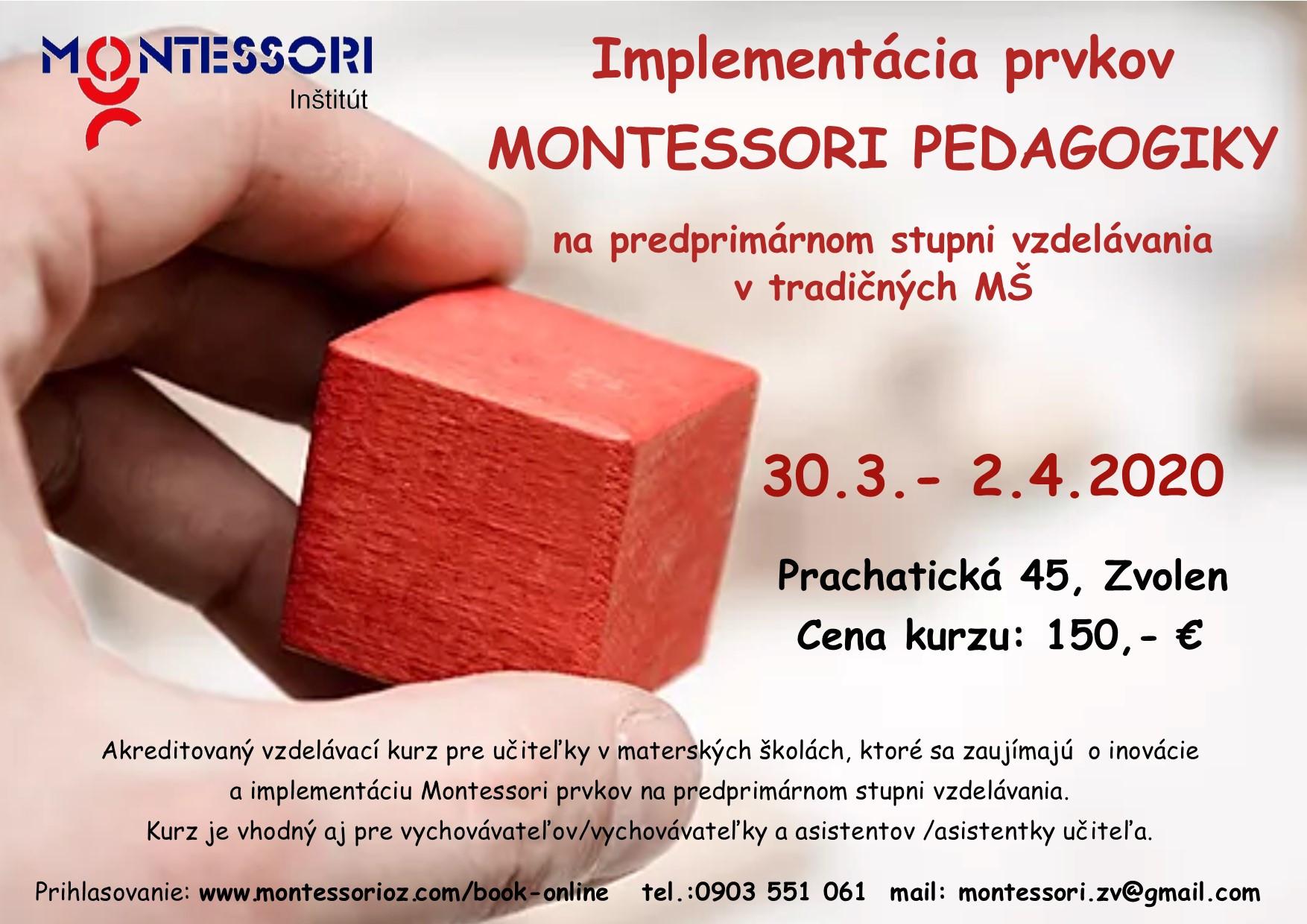 Implementácia prvkov Montessori