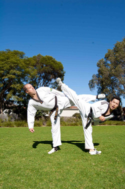 Masters Kicking Demonstration
