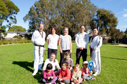 Family Training Members of the weeke