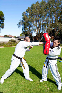 Instructor Richard's counter straigh