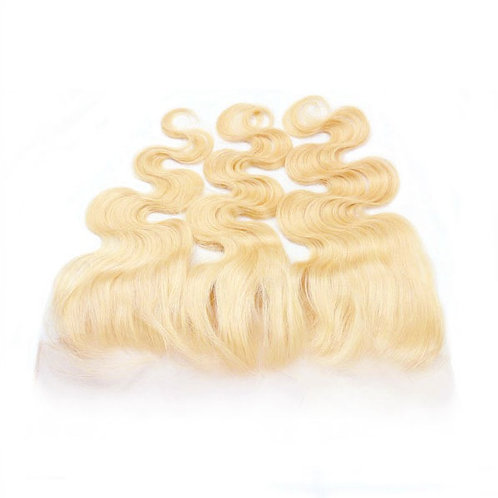 613 Blonde Brazilian Body Wave Frontal