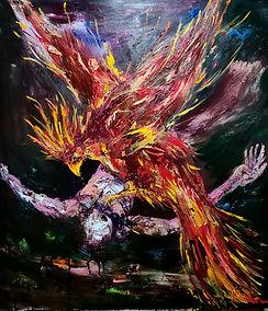 Yuniel Delgado The tears of Phoenix will