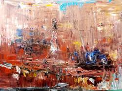 Cayador. 60 x 80 cm. Olie på lærred
