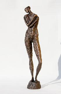 SERENITY. Bronzesculpture. Bronzeskulptu