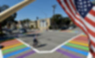 Martin Duvander gay crosswalk.jpg