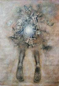 Angel El día que nací 173x120cm técnica mixta.jpg