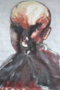 Alfredo Mendoza. Mirror. Face
