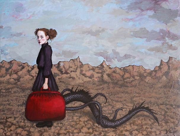 Lisa Lach-Nielsen. Painter. Kunstner. Artist.
