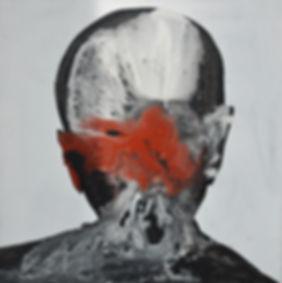 Alfredo Mendoza. Painter. Face