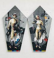 Time to Lucas Cranach- Adam &Eve_ 2 X 11