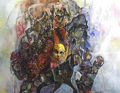 Renacer de Cultura 1 130 x 160 cm mixta
