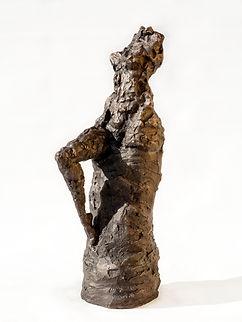 GLAMOROUS_–_Bronzesculpture._Bronzeskulp