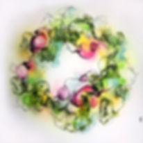 SpringtimeSprouting-110x110cm-12.500 Dkr