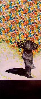 Spring I. 400x150 cm. Oil on canvas. 201