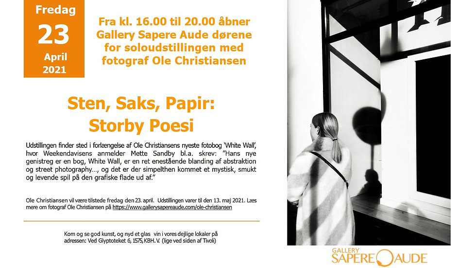 INVITATION FOR THE OPENING VERNISSAGE ST