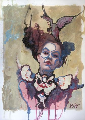 Lisa Lach-Nielsen. Painter.