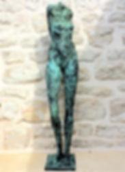 THE SECRET. STRENGHT. Bronzesculpture. B