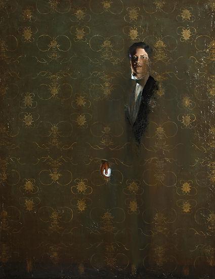 June Jin Engelhardt. Painter.