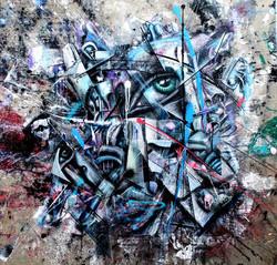 Fragments of Beauty. 100x100. 15000