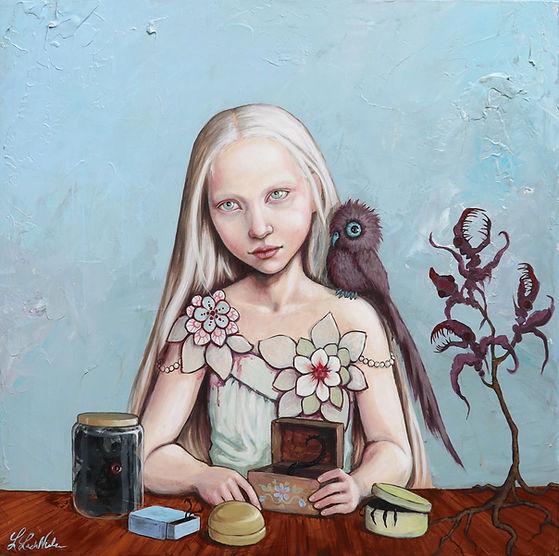 Lisa Lach-Nielsen. Painter