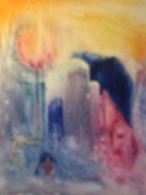 No title 60x80cm Oil on canvas 2019