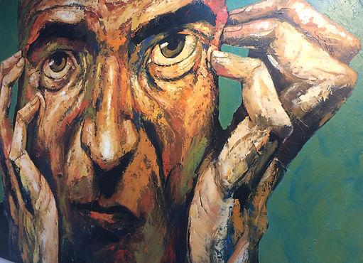 Abel Massot. Acryl on canvas. 250x200 cm