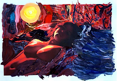 Rafael Fuchs  Acryl og foto 27x38 inches