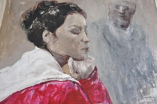 Alfredo Mendoza. Painting face Cuba.