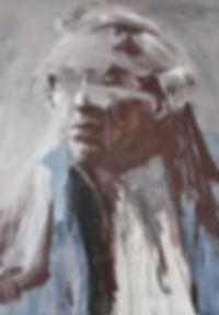 Alfredo Mendoza. Painting Oil on cnvs