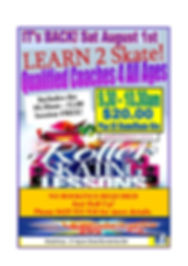 UPDATED POST COVID NEW LEARN TO SKATE FL