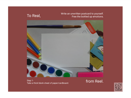 To Real, From Reel | Write an Unwritten Letter to Yourself
