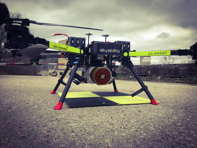 Erste Drohne mit 3D Laserscan in Österreich - Revolution der Vermessung