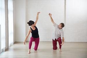 Line Claus en Paul Mussche - Dru Yoga België
