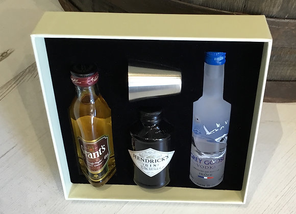 Grants, Hendricks and Grey Goose Gift Set
