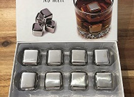 steel whisky stones