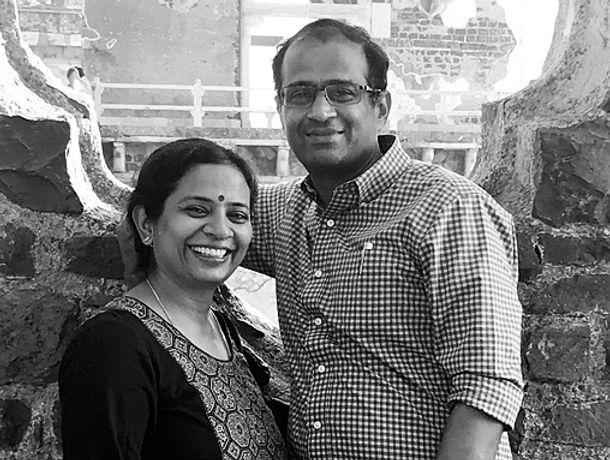 Meenakshi Ramesh and Ramesh Mangaleswaran