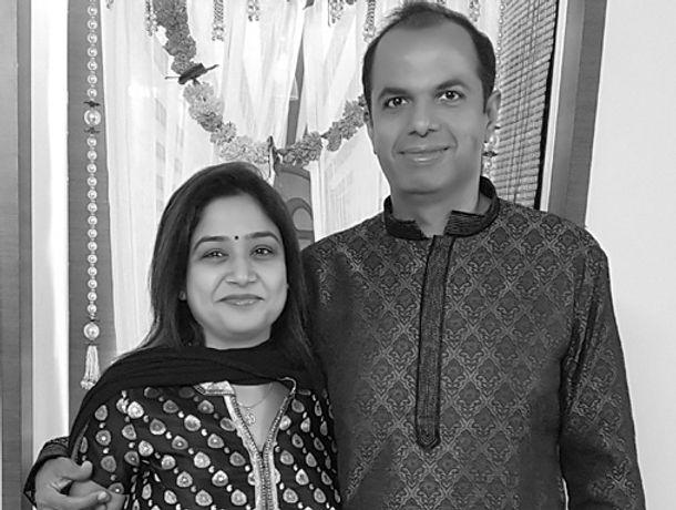 Tanu and Girish Batra