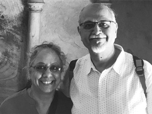 Smita and Ulhas Vairagkar