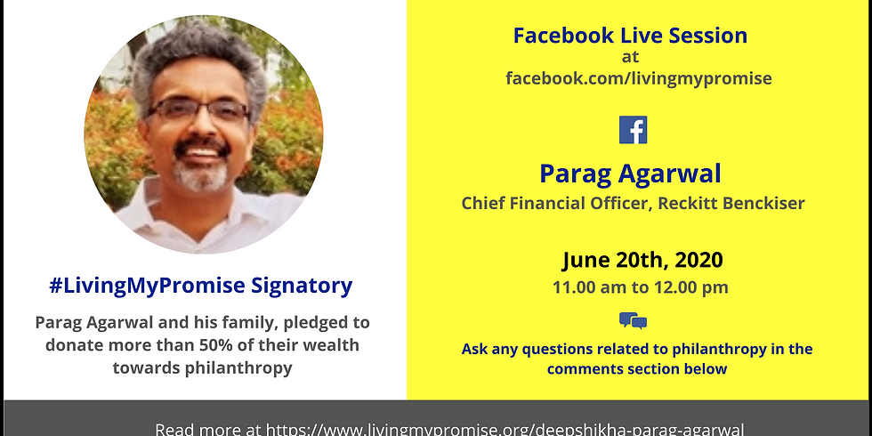 FB Live with Parag Agarwal