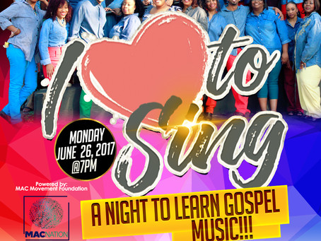 I Luv To Sing - A Night to Learn