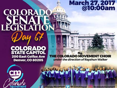 Colorado Movement at Colorado State Capital